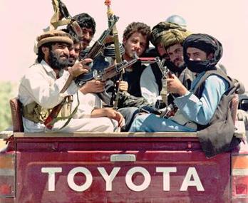 Talibanii ameninta Romania
