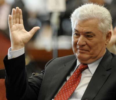 Liderul PCRM, Vladimir Voronin, mizeaza pe cartea electorala rusa