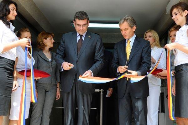 Ministrul roman de Externe Teodor Baconschi sprijina politica promovata de omologul sau din Republica Moldova Iurie Leanca