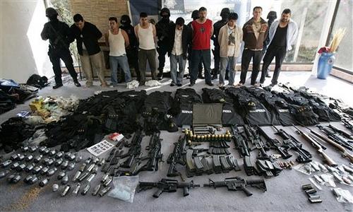 Cartelurile mexicane, inarmate cu arme fabricate in Romania