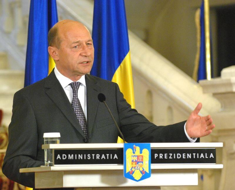 Presedintele roman Traian Basescu sprijina AGRI