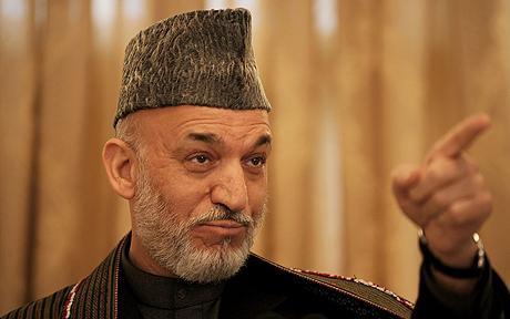 Presedintele afgan Hamid Karzai, acuzat de delapidarea ajutoarelor internationale