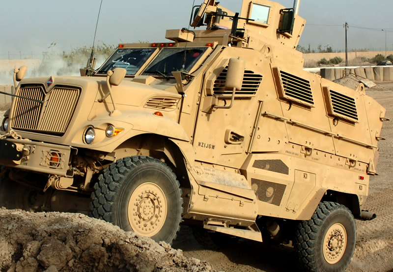 MRAP, arma secreta a SUA impotriva talibanilor