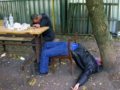 Politia rusa combate alcoolismul