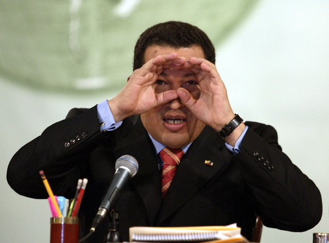Presedintele venezuelean Hugo Chavez acuza UE