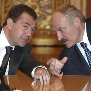 Presedintele rus Medvedev, suparat pe omologul sau belarus Lukasenko