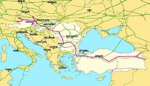 Nabucco, proiect strategic al UE