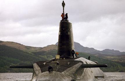 Submarinele nucleare Trident, amanate de Londra