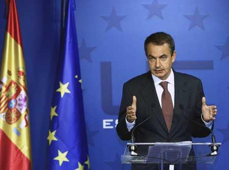 Premierul spaniol Jose Luis Zapatero, asteptat la Bucuresti