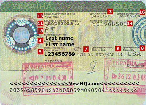 Ukraine-visa