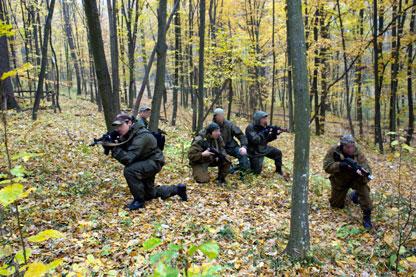 "Trupele speciale din Republica Moldova se antreneaza in stil ""anti-tero"""