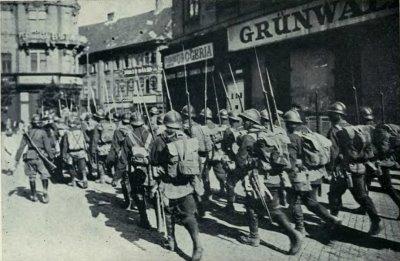Armata romana a ocupat capitala maghiara Budapesta in 1919 si 1940