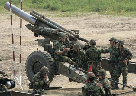 Armata sud-coreeana, pregatita pentru un nou razboi
