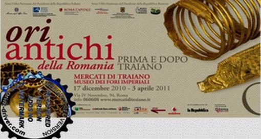 """Expozitia """"Aurul"""" , ofensiva diplomatica a Romaniei in Italia"""