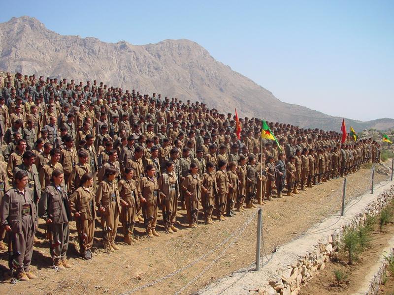 """""""Armata"""" PKK, finantata din Romania si Republica Moldova"""