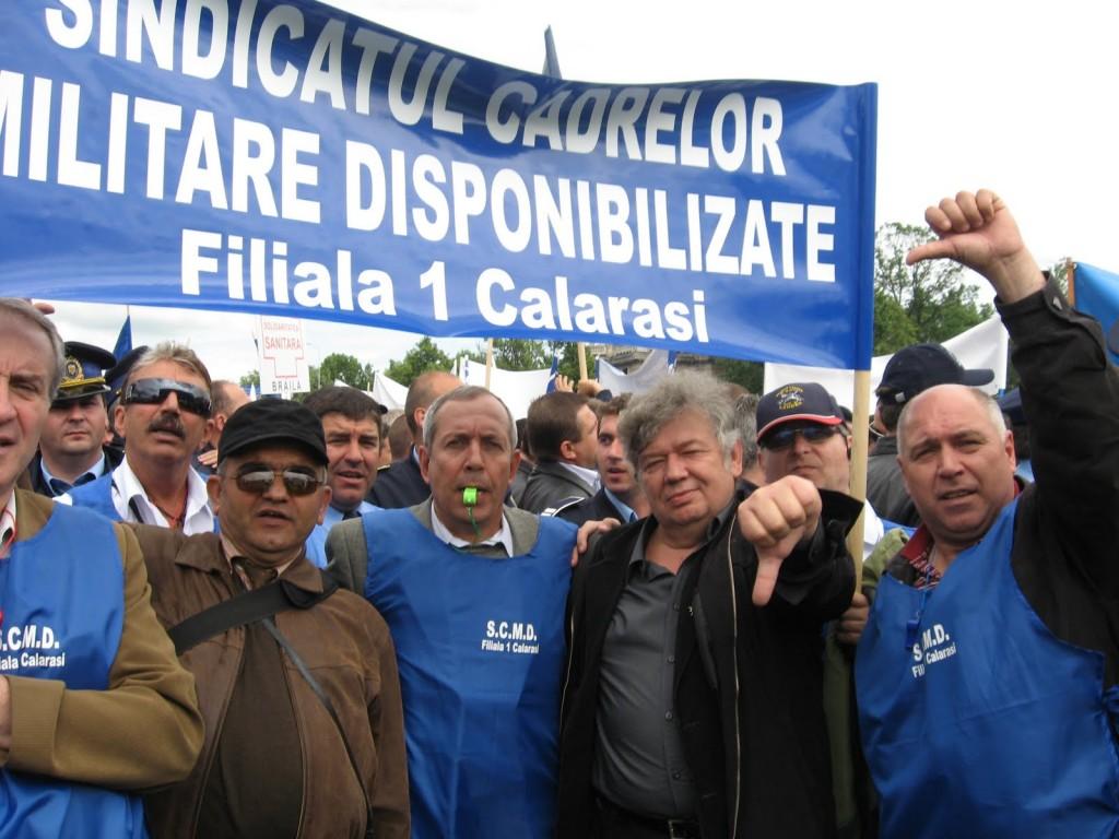 Sindicatul Cadrelor Militare Disponibilizate (SCDM) pregateste noi proteste