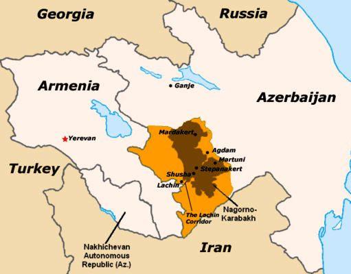 karabagh-map