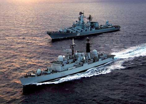 Flota militara rusa, spaima piratilor somalezi