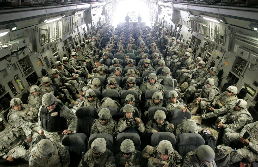 Armata SUA se baricadeaza in Afganistan