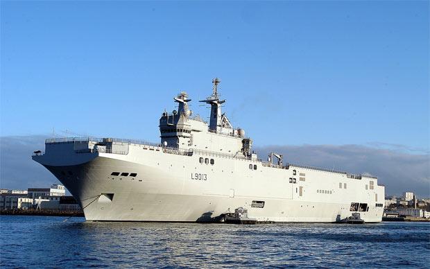 Kremlinul arunca in razboiul geopolitic port-avioanele Mistral