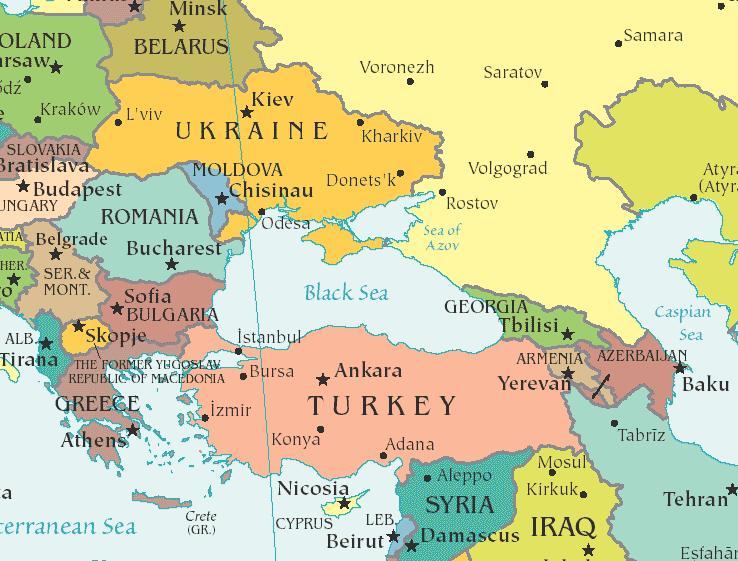 Marea Neagra, zona strategica pentru Ankara si Bruxelles