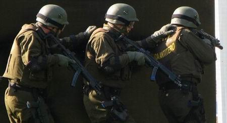 Luptatori ai Brigazii antiteroriste a SRI