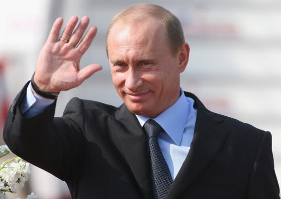 Premierul rus Vladimir Putin debarca la Belgrad