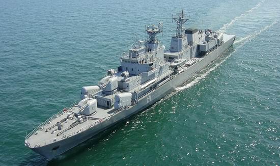Fregata Marasesti (foto: navy.ro)