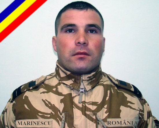 Catalin-Ionel Marinescu a cazut la datorie in Afganistan