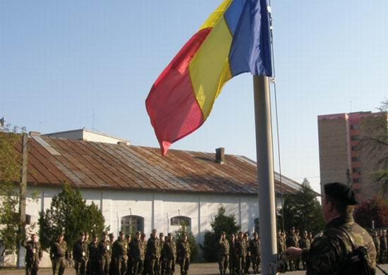 Ceremonie militara in memoria eroului Constantin-Laurentiu Lixandru