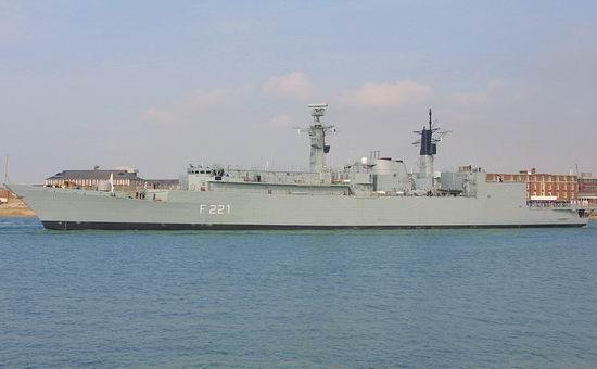 Fregata Regele Ferdinand (foto navy.ro)
