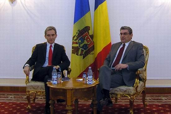 Iurie Leanca si Teodor Baconschi