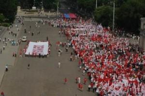 Mars comunist la Chisinau