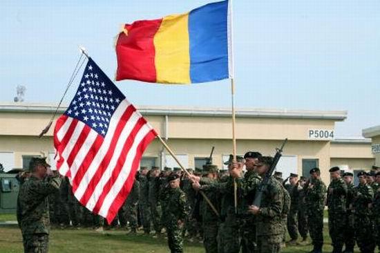 Militari americani la Mihail Kogalniceanu