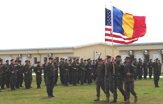 Militari romani si americani la BLACK SEA ROTATIONAL FORCE 2011