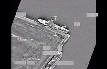 Nave libiene bombardate (nato.int)