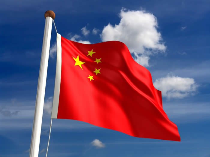 Steagul chinezesc flutura deasupra Siberiei