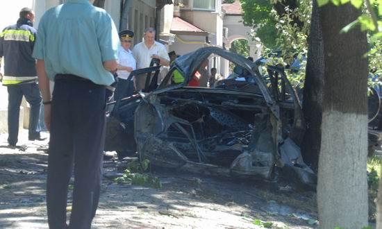 Explozie la Chisinau (foto jurnal.md)