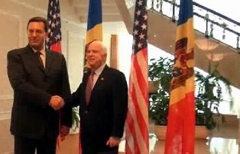 Marian Lupu si John McCain