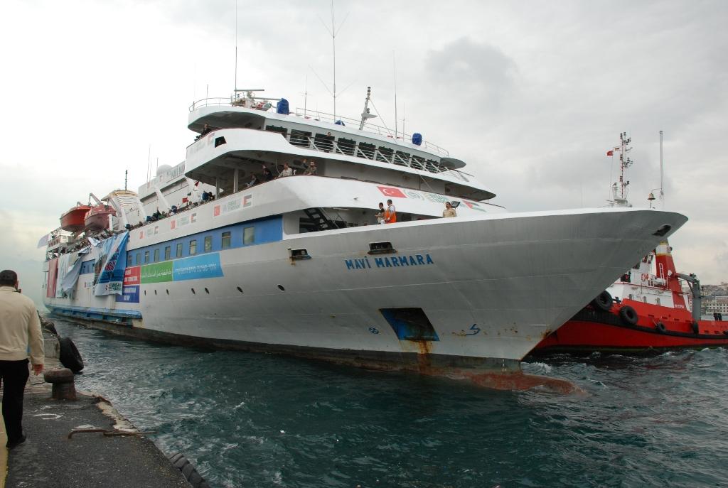 """Nava """"Mavi Marmara"""", eroina primei """"Flotile a Libertatii"""""""