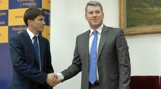 Oleg Efrim Catalin Predoiu AGERPRES