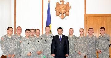 Vitalie Marinuta si cadetii americani