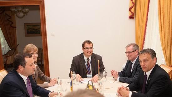 Vlad Filat si Viktor Orban