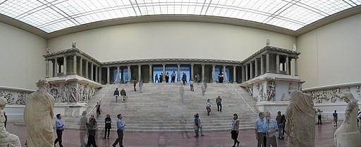 Muzeul Pegamon din Berlin, in mijlocul razboiul arheologic turco-german