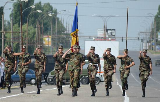 Antrenament parada militara 1