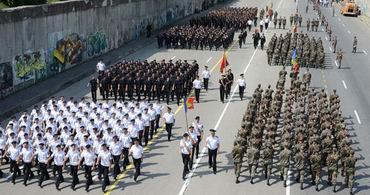 Antrenament parada militara 2