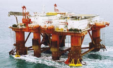 OIl sea platform 534