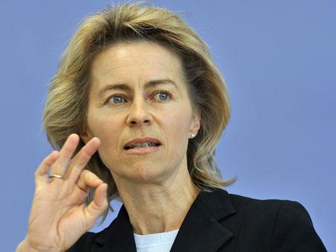 Ministrul german Ursula von der Leyen, portstindard al federalismului european