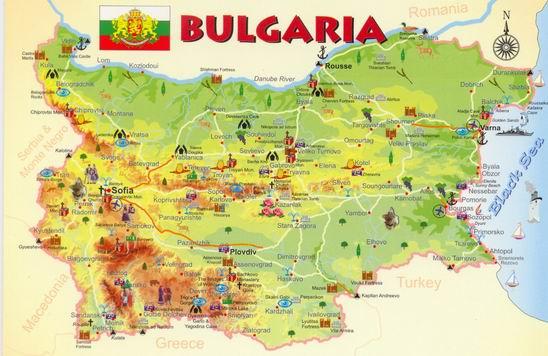 Bulgaria-harta