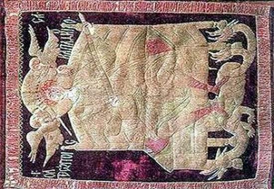 Steagul lui Stefan cel Mare si Sfant